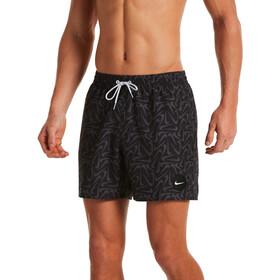 "Nike Swim Marker Swoosh 5"" Volley Shorts Men black"